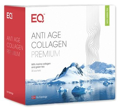 Eqology Anti Age Collagen Premium, Nyt produkt fra Eqology